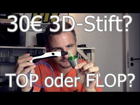 TEST: Tipeye 3D-Druck Stift!