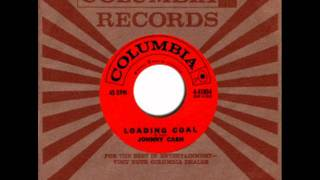 Loading Coal by Johnny Cash on MONO 1960 Columbia 45.