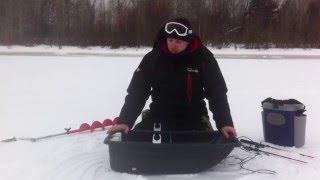Доработка санок для зимней рыбалки