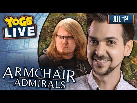 ARMCHAIR ADMIRALS: Northgard w/ Duncan, Ben, Dr Simon Clark, Rythian & Daltos - 01/07/19