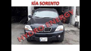 Kia Sorento hidrojen yakıt sistem montajı