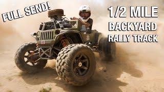 Full Send+Building a 1/2 Mile Backyard Rally Track!