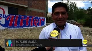 """""""Hitler"""" postula a una alcaldía en Áncash y """"Lenin"""" quiso tacharlo"""