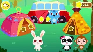 ★NEW★快和奇奇妙妙一起去郊遊露營,還能吃到非常多的美食  幼兒教育遊戲   官方影片   寶寶巴士
