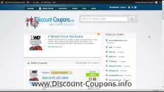 4 Wheel Drive Coupon 2015 - 4WheelDrive.com Coupon Insructions