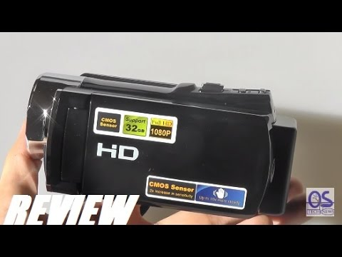 REVIEW: PowerLead PL-C05 1080P HD Video Camcorder (16MP)