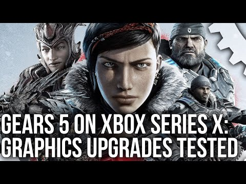 This is how Gears 5 is upgraded on Xbox Series X