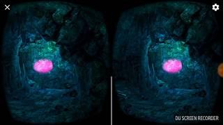 Фантастическое путешествие в пещере. 360 видео.VR-BOX