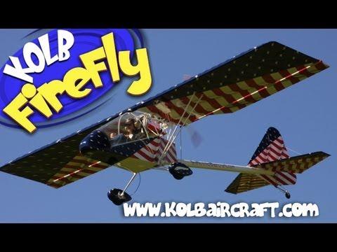 Kolb Aircraft, Kolb FireFly part 103 legal ultralight aircraft.