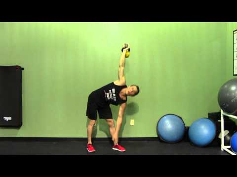 Kettlebell Bent-knee Windmill