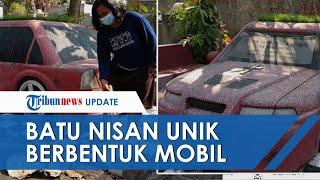 Unik! Batu Nisan Berbentuk Mobil di TPU Bantul, Ada Pelat Nomor hingga Sering Didatangi Peziarah