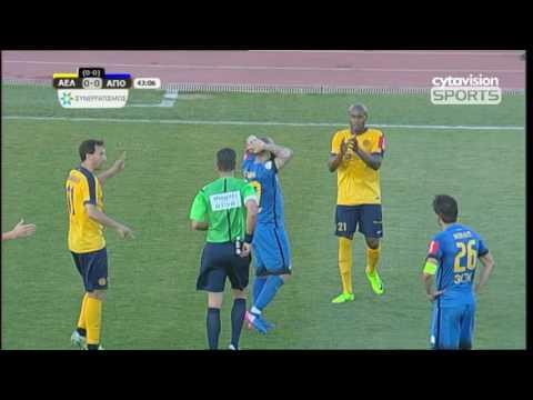 VIDEO: ΑΕΛ 1-1 ΑΠΟΕΛ (1-1agg) Στιγμιότυπα αγώνα