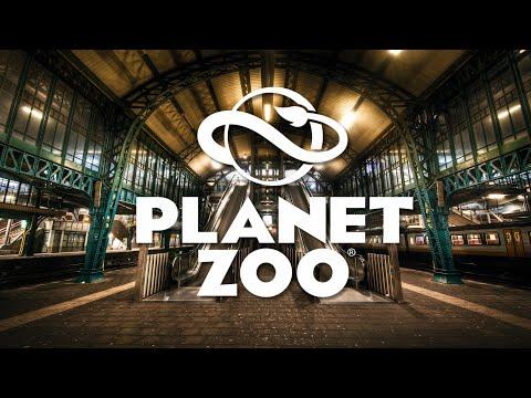 PLANET ZOO 🐘🐆🦏 [LIVE] #12 Bahnhof Fertigstellung und Raubtierfütterung [Cam] German / Deutsch
