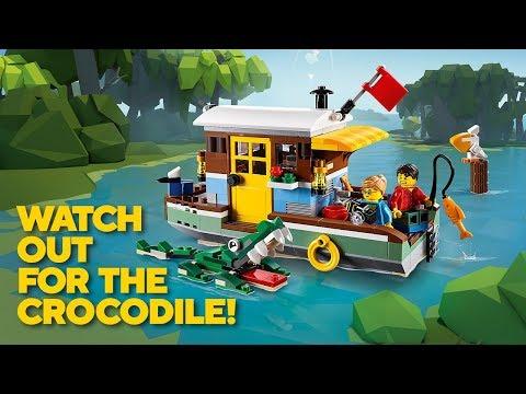 Vidéo LEGO Creator 31093 : La péniche au bord du fleuve