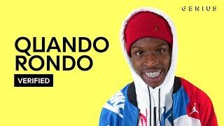 "Quando Rondo ""Double C's"" Official Lyrics & Meaning   Verified"