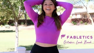 Gracie's Mini Fashion Show! | Fabletics October Look Book | ALL THE COLORS!!