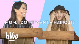 Parent vs. Kid: Loser Gets a Haircut | Spirited Debates | HiHo Kids