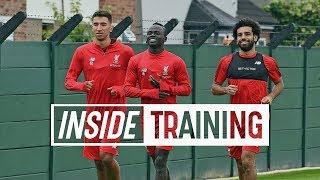 Inside Training: Salah & Mane return for pre-season training, lactate testing... and basketball
