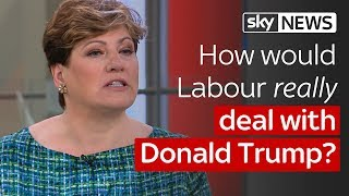 Paterson: Emily Thornberry on Donald Trump