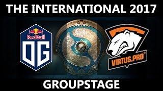 OG vs VP GAME 1, The International 2017, VP vs OG