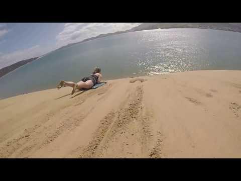 Video of Sandboarding!
