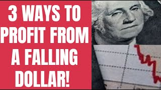 3 Ways YOU Can Profit from a Falling Dollar!!