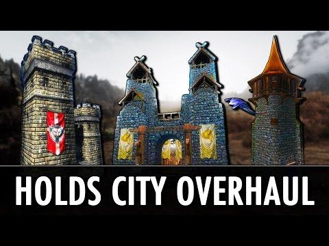 Skyrim Mod: Holds - The City Overhaul