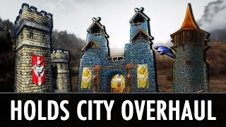Skyrim Mod: Holds - The City Overhaul