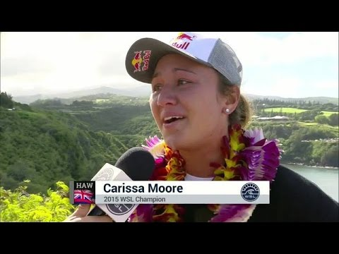 Interview: Carissa Moore Claims Third Title