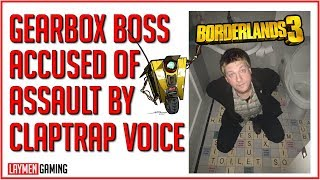 Claptrap's Voice Actor Says Randy Pitchford Assaulted Him In Hotel Lobby