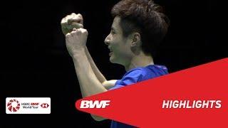 YONEX Swiss Open | MS Finals Highlights | BWF 2019