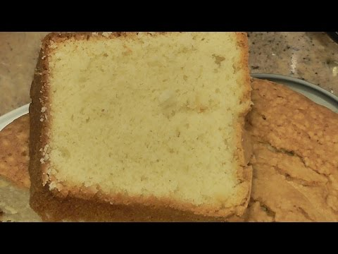 Old Southern Pound Cake Recipe