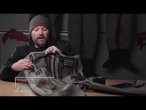 Simms G4Z Stockingfoot gázlóruha S-M-L videó