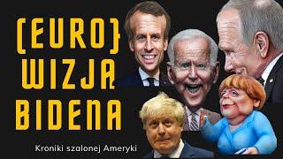 KZS: Jakiego świata chce Joe Biden, co chce osiągnąć podczas wizyty w Europie I Kroniki Ameryki