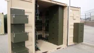 TRICON Shipping Containers For Military Weapons Deployment