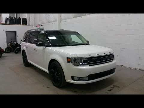 2016 Ford Flex SEL W/ Black Roof, Sport Wheels Review | Boundary Ford