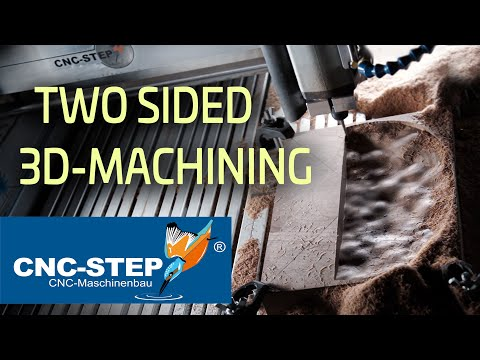Milling Wooden Bowls - CNC Two-sided 3D Machining