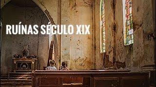 FPV - Entrei com Drone e Tudo,nas Ruínas da Igreja dos Ingleses em Gália -SP