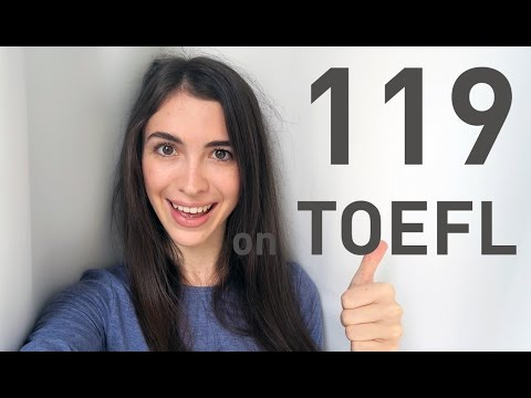 TOEFL: how to score 119 out of 120