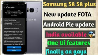 android pie samsung s8 plus features - TH-Clip