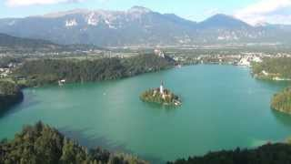 preview picture of video 'Lago di Bled - Bled Lake Slovenia'