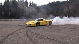 EPIC Ferrari Enzo Burnout You Haven