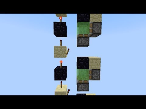 20m S 4x1 Slime Elevator 50 Reliable Minecraft Project
