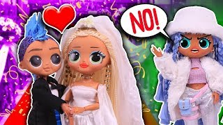 SWAG MARRIES PUNK BOI! 😱 Her FRIENDS RUIN The WEDDING! 💄 LOL OMG DOLLS