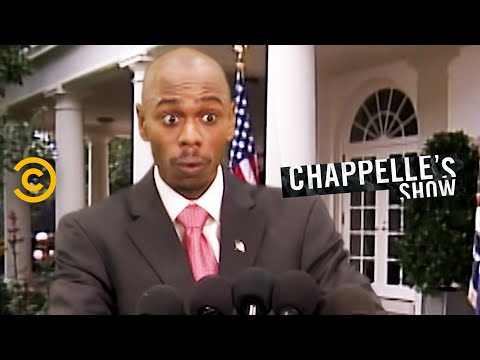 I would love to see Dave Chappelle re-do this skit for today.
