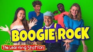 Brain Breaks - Action Songs for Children - Dance Songs for Kids - Boogie Rock - The Learning Station