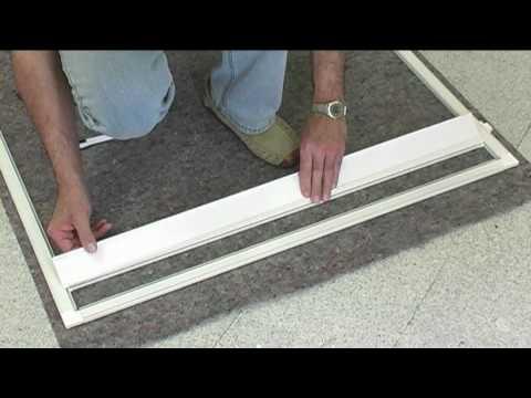 IPS ALU Komplettbausatz-Tür Montagevideo