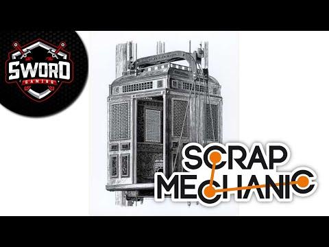 Asansörü İcat Edicem  I  Scrap Mechanic Survival  #8