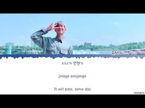 BTS RM - Everything Goes (지나가) ( With NELL ) [Color Coded Lyrics/Han]