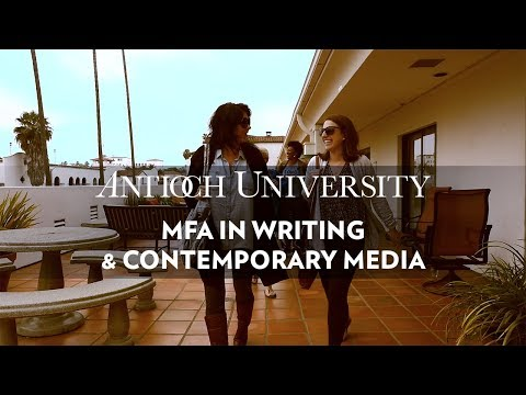 Antioch University's Low-Residency MFA in Writing & Contemporary Media